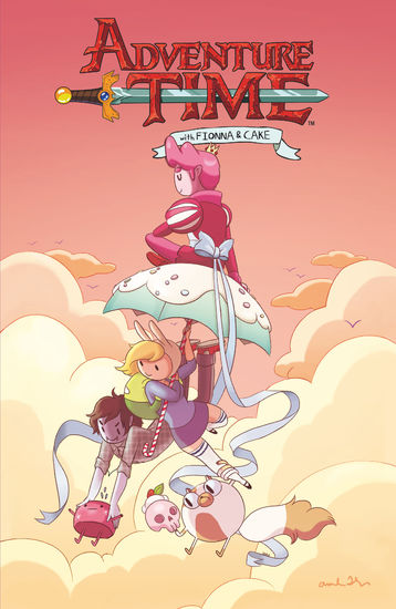 Adventure Time: Fionna and Cake - cover
