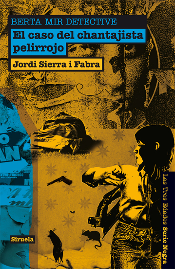 El caso del chantajista pelirrojo Berta Mir detective - cover