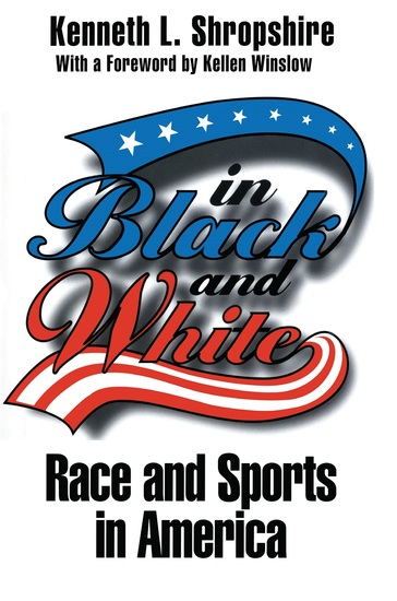 In Black and White - Race and Sports in America - cover