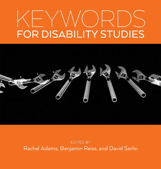 Keywords for Disability Studies - cover