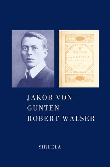 Jakob von Gunten - cover