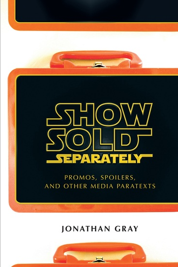Show Sold Separately - Promos Spoilers and Other Media Paratexts - cover