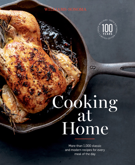 Williams-Sonoma Cooking at Home - More than 1000 classic and modern recipes for every mal of the day - cover