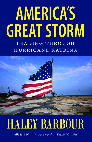 America's Great Storm - Leading through Hurricane Katrina - cover