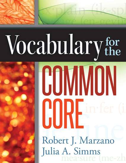 Vocabulary for the Common Core - cover