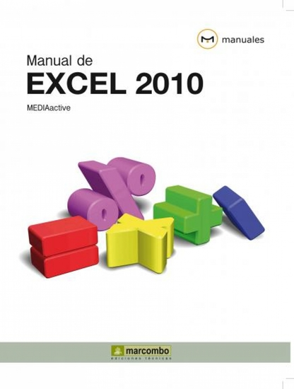 Manual de Excel 2010 - cover