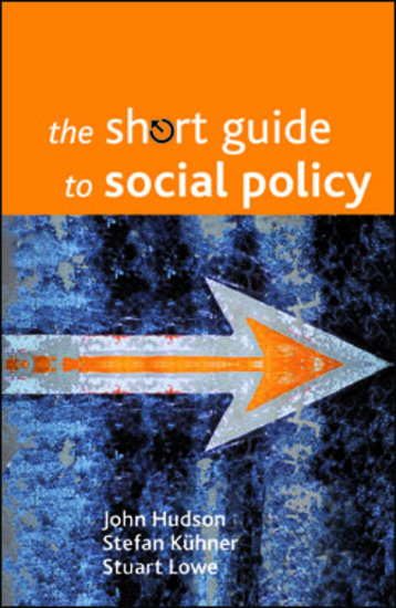 The short guide to social policy - cover