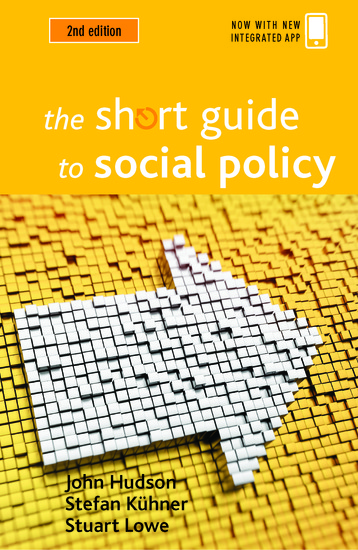 The short guide to social policy (Second edition) - cover