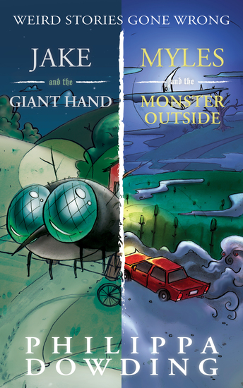 Weird Stories Gone Wrong 2-Book Bundle - Jake and the Giant Hand Myles and the Monster Outside - cover
