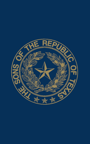 Sons of the Republic of Texas - cover