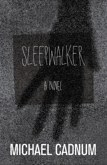 Sleepwalker - A Novel of Terror - cover
