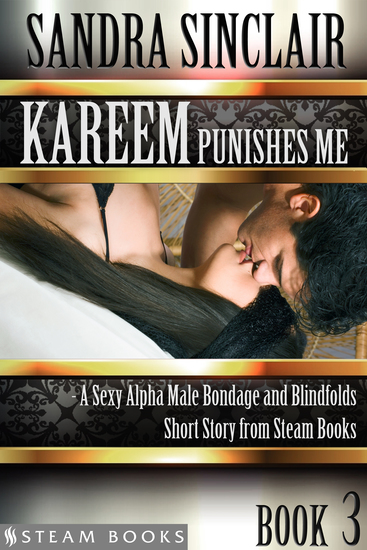 Kareem Punishes Me - A Sexy Alpha Male Bondage and Blindfolds Short Story from Steam Books - cover