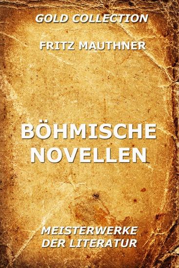 Böhmische Novellen - Erweiterte Ausgabe - cover