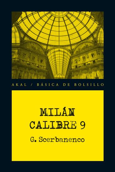 Milán calibre 9 - cover