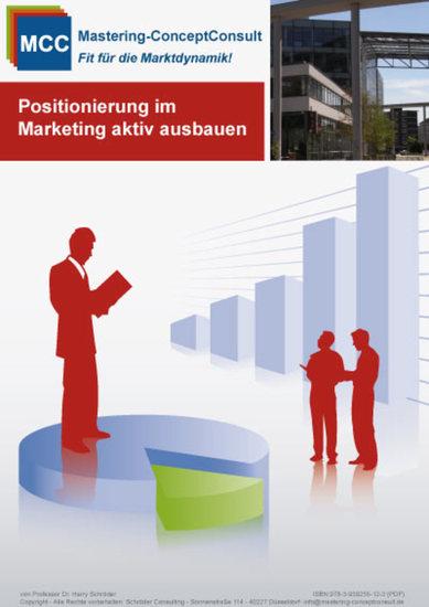 Positionierung im Marketing aktiv ausbauen - Die Marketinganalyse erfolgreich durchführen & auswerten - cover