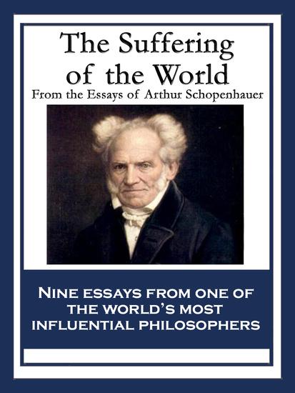 the essays of schopenhauer