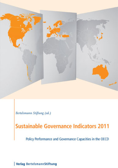 Sustainable Governance Indicators 2011 - Policy Performance and Governance Capacities in the OECD - cover