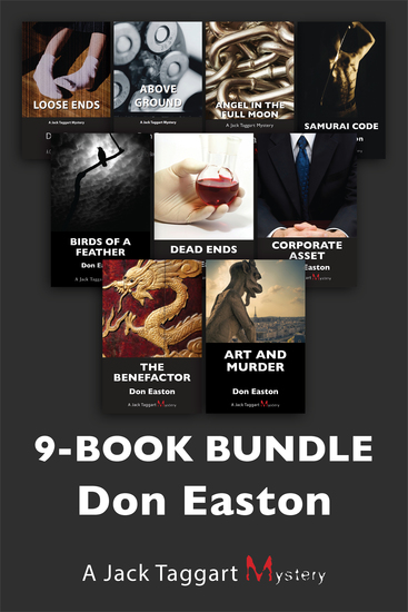 Jack Taggart Mysteries 9-Book Bundle - Art and Murder The Benefactor Corporate Asset and 6 more - cover