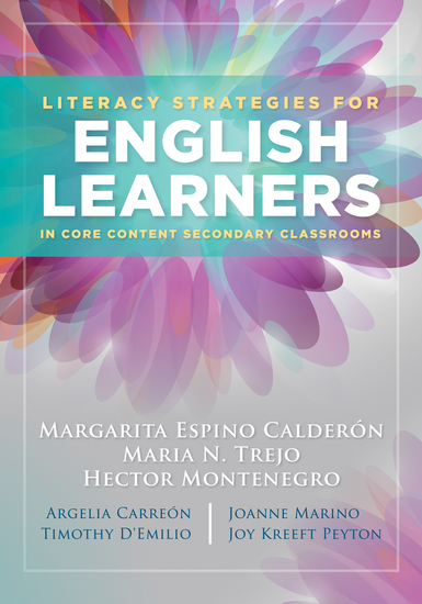Literacy Strategies for English Learners in Core Content Secondary Classrooms - cover