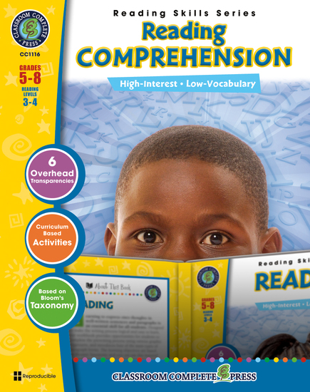 Reading Comprehension - Reading Skills Series - cover
