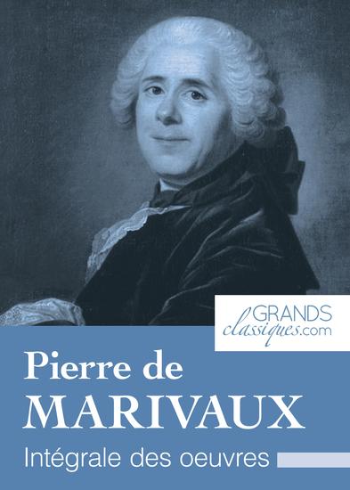 Pierre de Marivaux - Intégrale des œuvres - cover