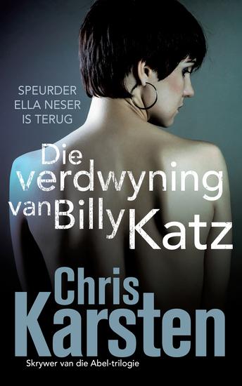 Die verdwyning van Billy Katz - cover