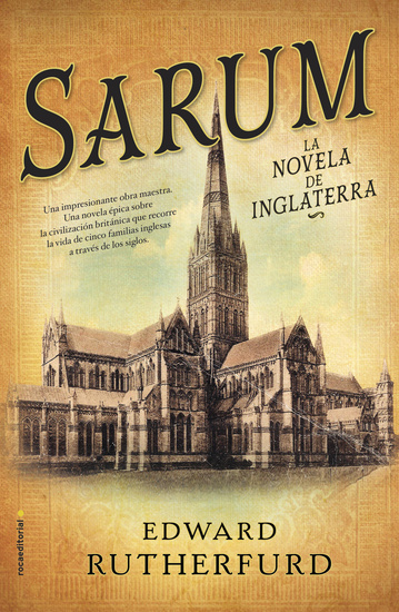 Sarum - La novela de Inglatera - cover