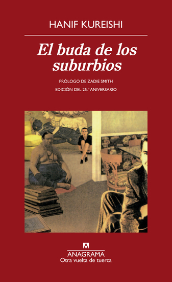 El buda de los suburbios - cover