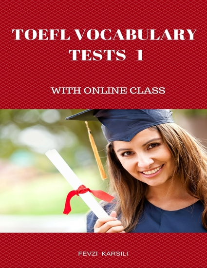 Toefl Vocabulary Tests 1 - cover