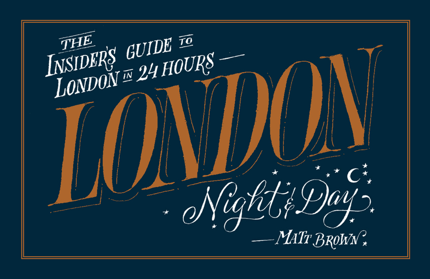 London Night and Day - the insider's guide to London 24 hours a day - cover