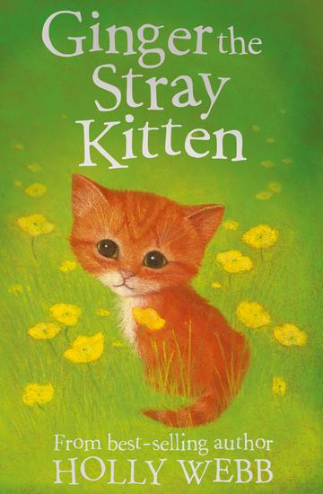 Ginger the Stray Kitten - cover