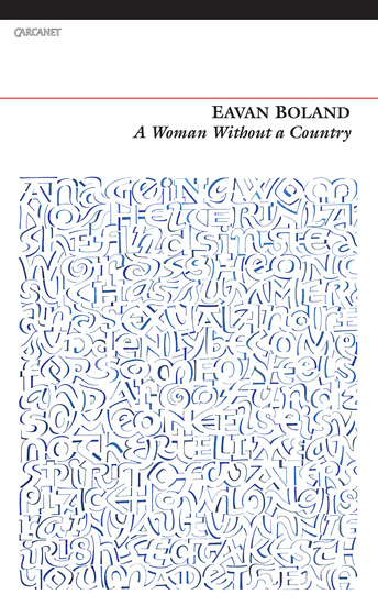 a complex view of an oppressed woman in eavan bolands poem a womans world Tag: eavan boland posted on november (from 'it's a woman's world', night feed, 1982) boland's view of irish history and her idea of nation.