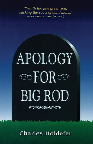 Apology for Big Rod - cover