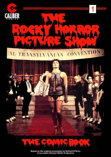 Rocky Horror Picture Show: The Comic Book #1 - cover