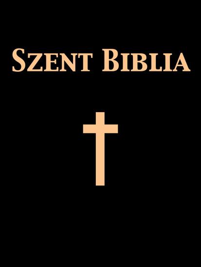 Szent Biblia - cover
