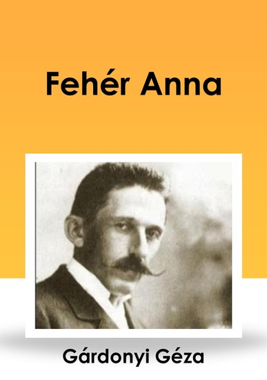 Fehér Anna - cover
