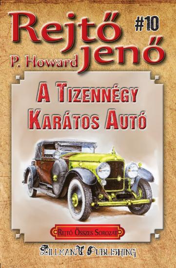 A tizennégy karátos autó - cover