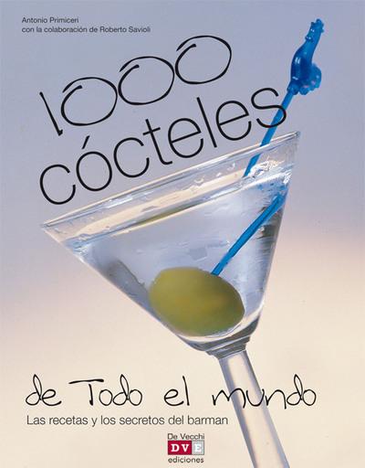 1000 cócteles de todo el mundo - cover