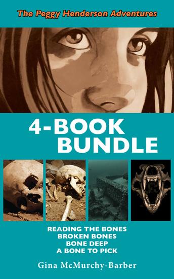 Peggy Henderson Adventures 4-Book Bundle - A Bone to Pick Bone Deep Broken Bones Reading the Bones - cover