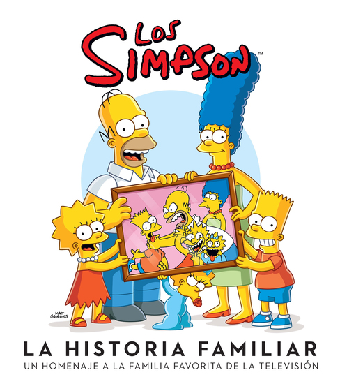 Los Simpson (Fixed Layout) - La historia familiar - cover