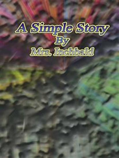A Simple Story - cover