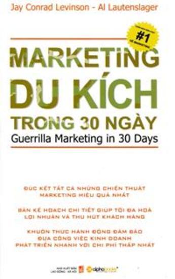 Marketing Du Kích Trong 30 Ngày - cover