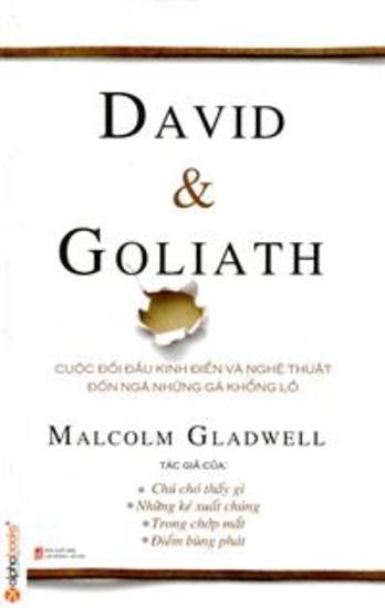 David & Goliath: Cuộc đối đầu kinh điển và nghệ thuật đốn ngã những gã khổng lồ - cover