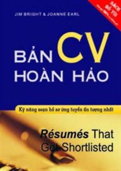 Bản CV Hoàn Hảo - cover