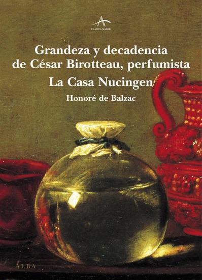 Grandeza y decadencia de César Birotteau - cover
