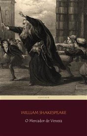O Mercador de Veneza - cover