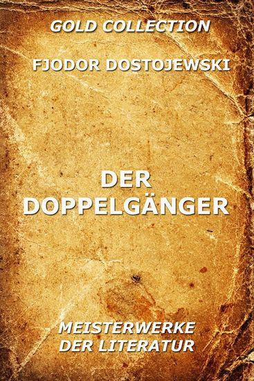 Der Doppelgänger - Erweiterte Ausgabe - cover