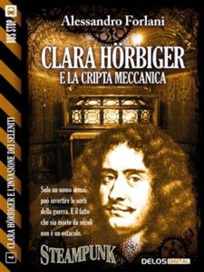 Clara Hörbiger e la cripta meccanica - Clara Hörbiger 4 - cover