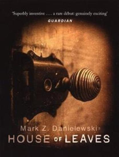 House of Leaves-Mark Z Danielewski - cover