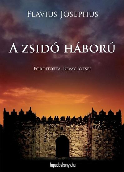A zsidó háború - cover
